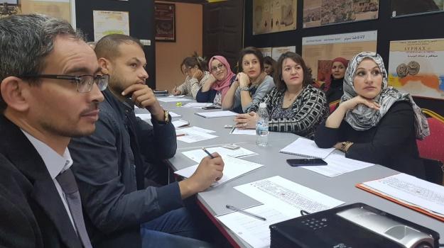 Formation au profit des journalistes  de TV4 tamazight – ENTV