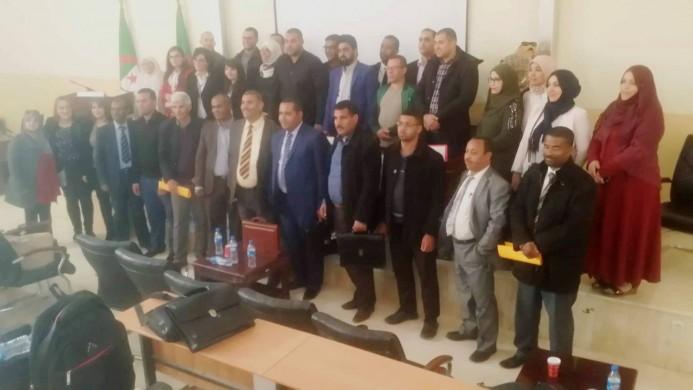اختتام الملتقى الوطني حول التخطيط والتعدد اللغوي  بتندوف اتفاقية تعاون حول سبل تطوير اللغة الأمازيغية في الوسط الجامعي