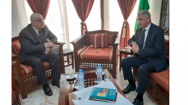 Rencontre de concertation avec le Ministre du Tourisme