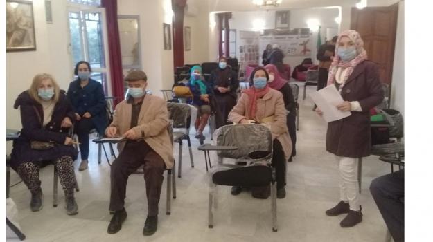 إستئناف تقديم دروس الأمازيغية للكبار  في مقر المحافظة السامية للأمازيغية  لسنة 2020/ 2021