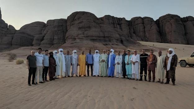 الأمبن العام للمحافظة السامية للأمازيغية في زيارة عمل لولاية إن ڨزام