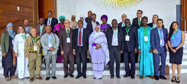 الشراكة بين المحافظة السامية للأمازيغية  و الأكاديمية الأفريقية للغات